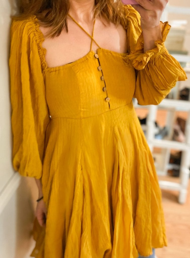For easy, breezy (& a li'l boho, a li'l sexy) summer dresses, Free People nails it. They're on a roll w/ smocked & swingy tunics, & fun little mini dresses.