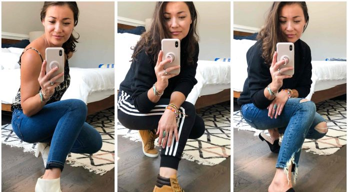 Cole Haan mules, Timberland sneaker boots & Marc Fisher booties...all 3 look SO GOOD w/ lougewear, for date night & of course....with jeans.