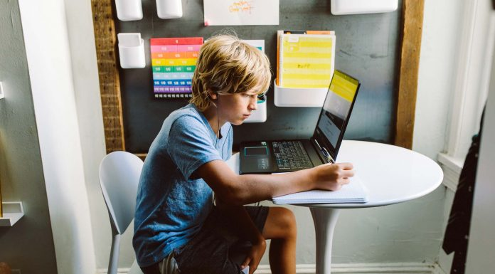 Homeschool requires some prep --we're on a kids' study nook & refurbished laptops from eBay, perfect for remote learning & gaming.