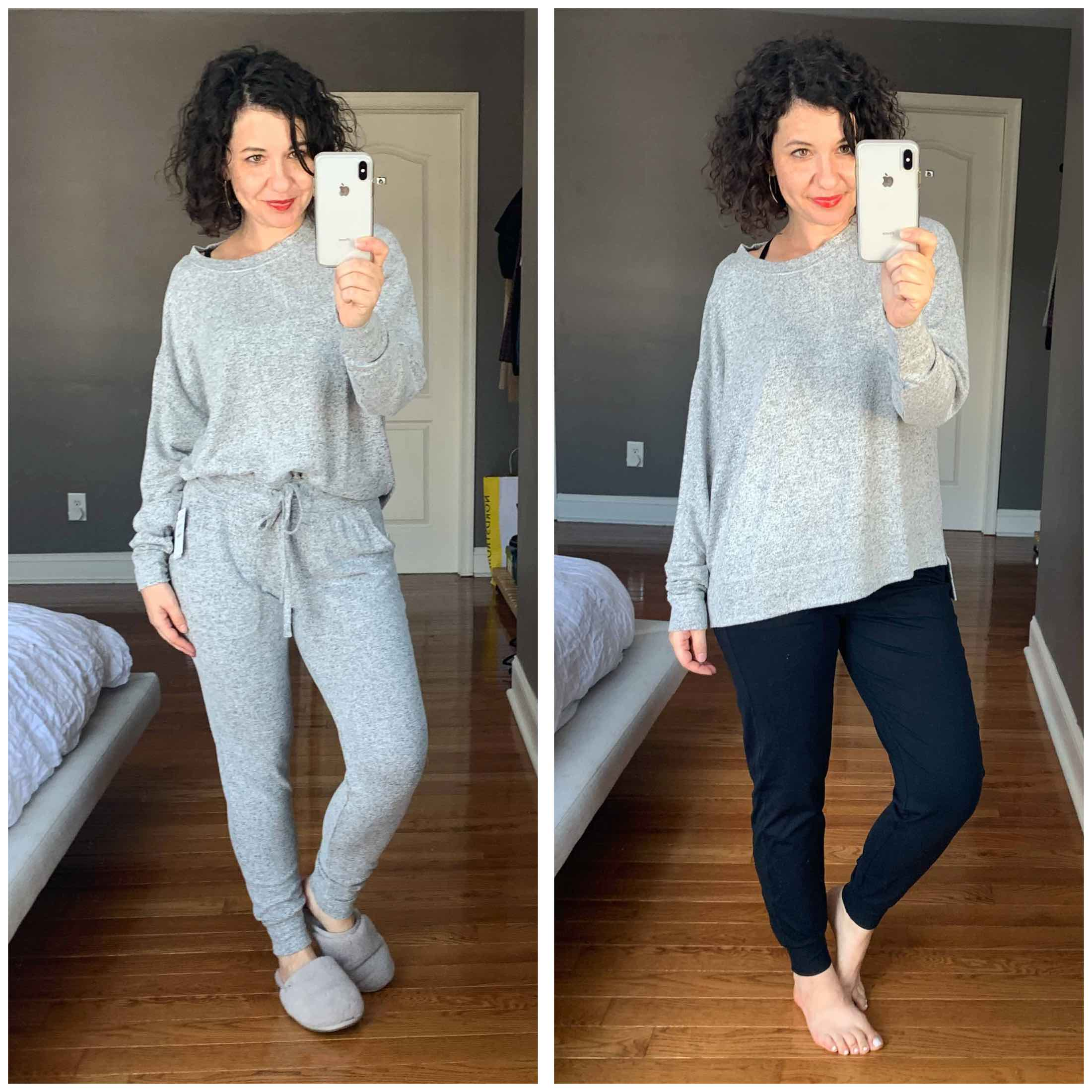 Cozy, luxe cardigans (think Vince); stylish comfort shoes (hey, EILEEN FISHER); cute tops (hi, FRAME) - #NSale #DressingRoomSelfies are here!