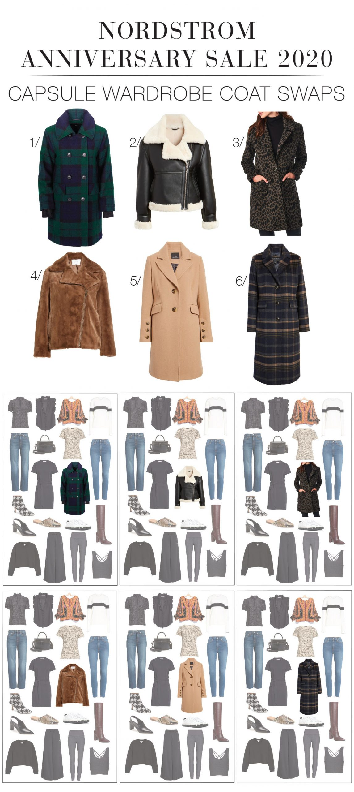 Statement coats -- in this new era of outdoor socializing -- are key to the fall wardrobe. Trench coats, moto jackets, Faux Fur. #NSale