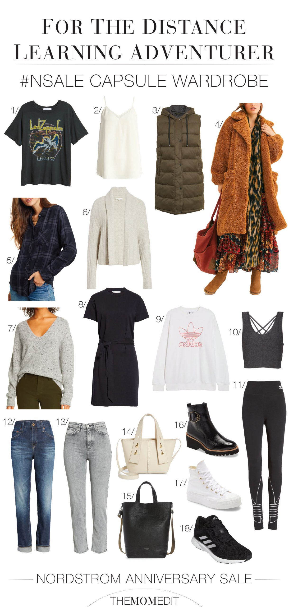 Remote learning = say yes to adventure! The Nordstrom Anniversary Sale offers the best deals for a road trip capsule wardrobe. Perfect timing!