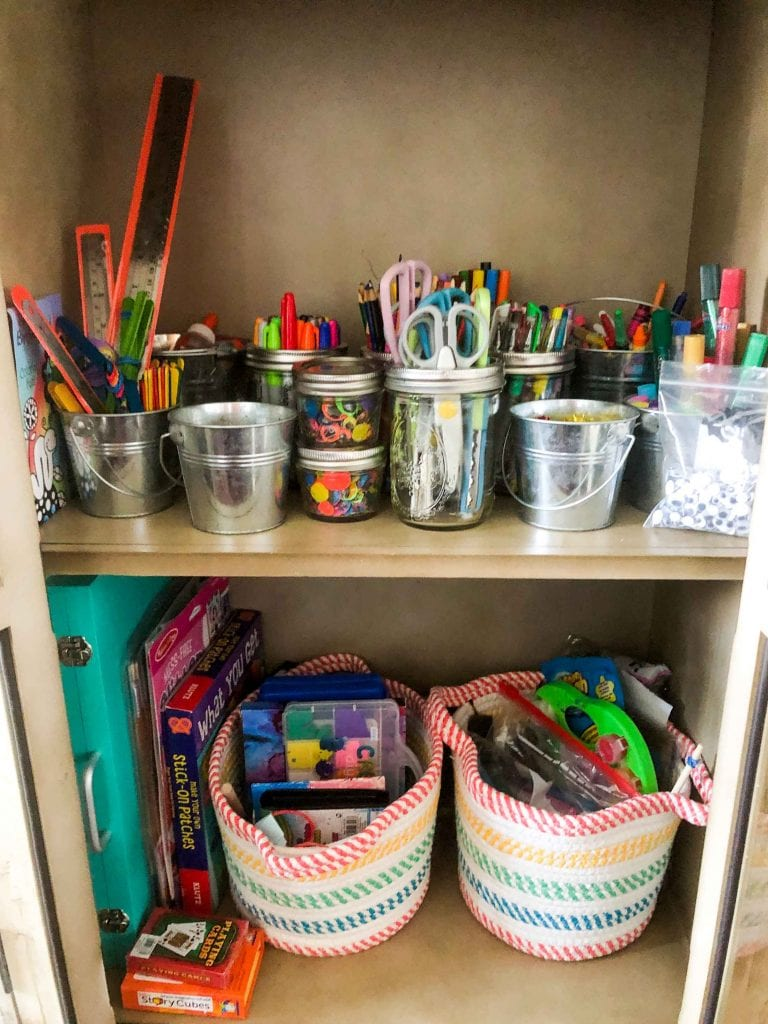 Let's go...homeschool, remote learning, hybrid school...For school-at-home + WFH, a peek into our apartment organization & kids' study nook.