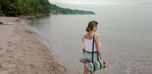 We're taking the kids on a little family friendly adventure in the Upper Peninsula...biking, berries & bikinis on a secret beach in Michigan.