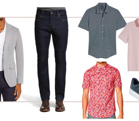 Oh, hey, Nordstrom Men's....the Anniversary Sale is perfect for a capsule wardrobe #addtocart event -- for the office or work from home, 7 outfits.