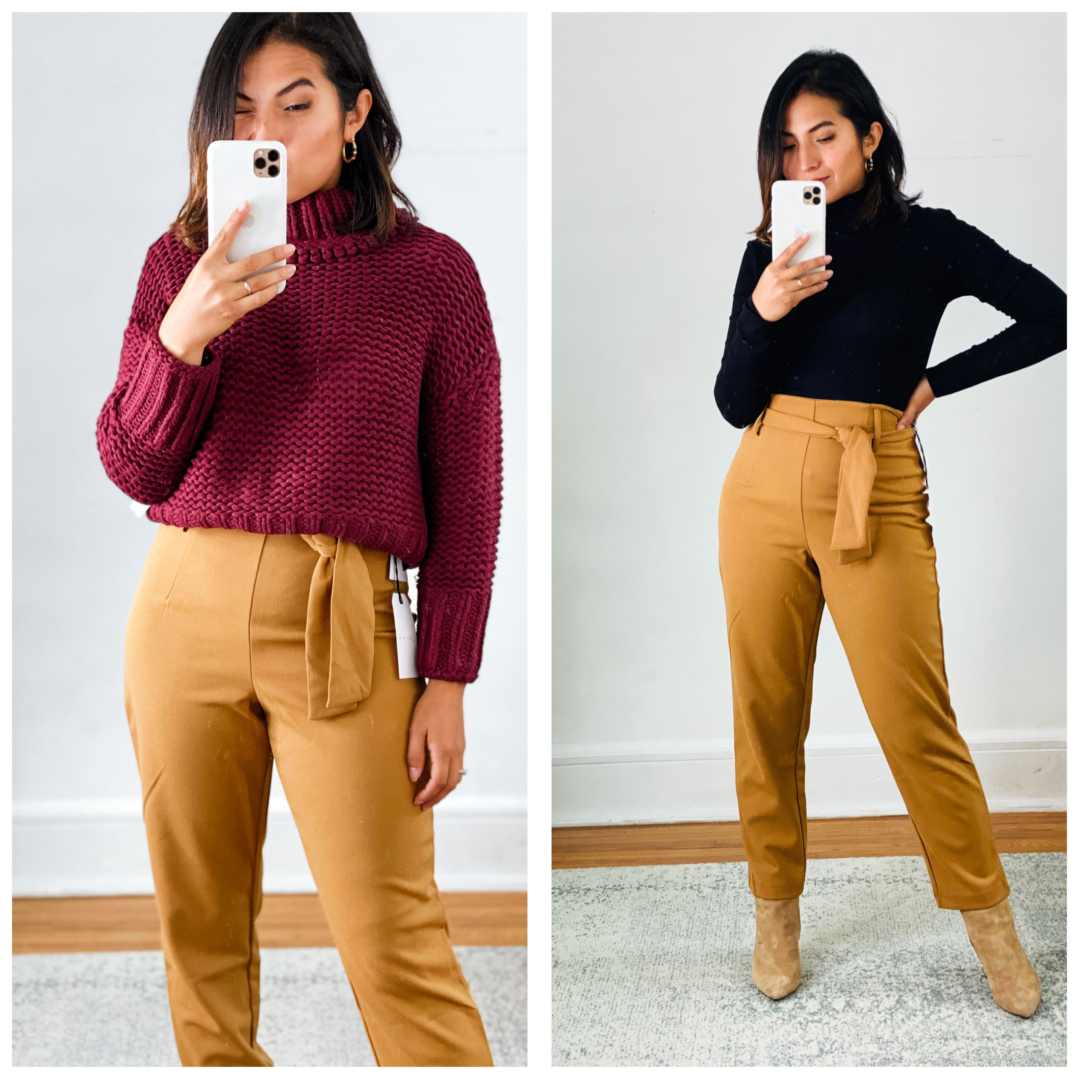 Shop the Nordstrom Anniversary Sale for chic clothes to wear at home. Julieta's formula — from jeans to sweaters & a knit midi dress is perfect.