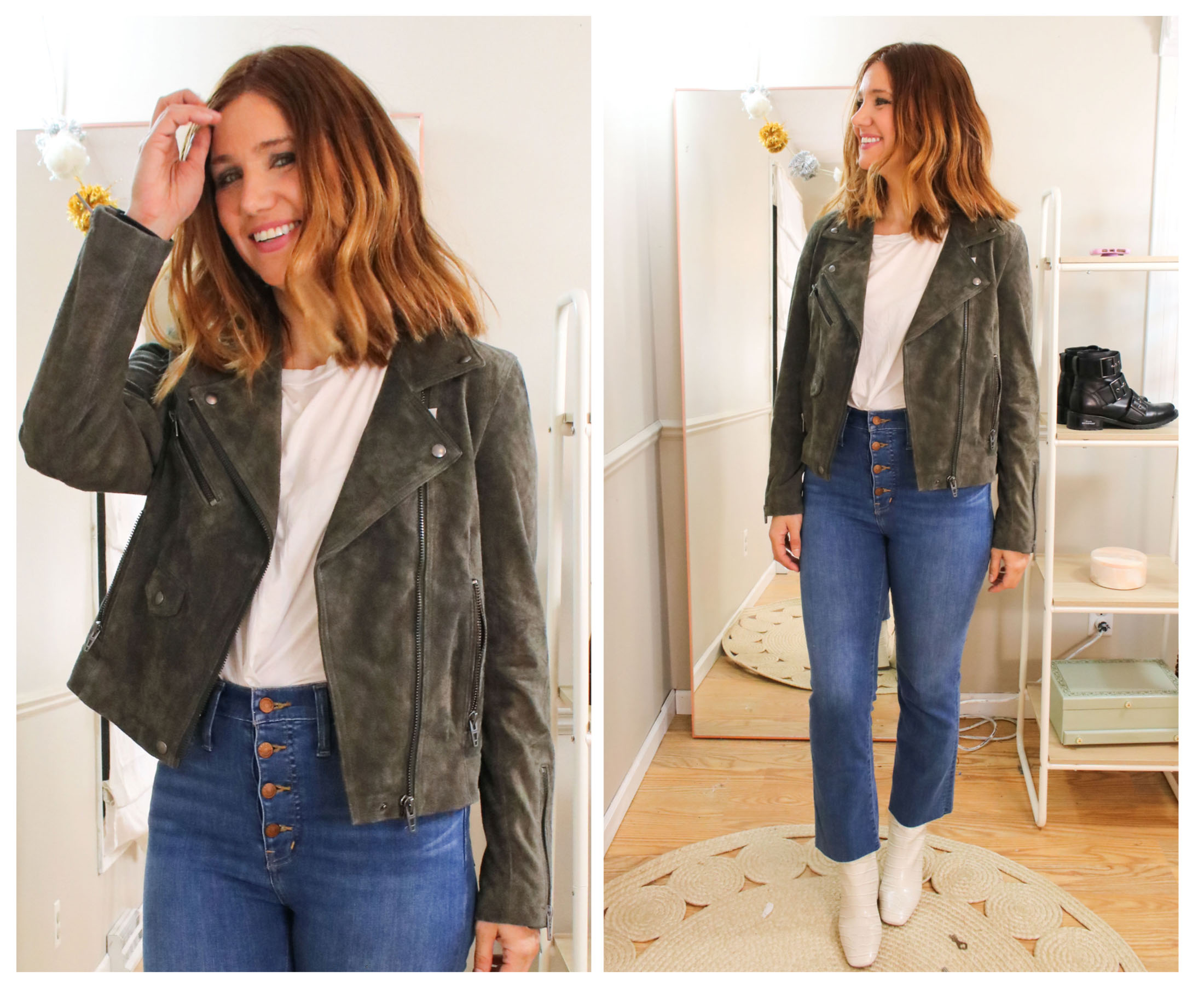 Topshop or rag & bone denim, BLANKNYC moto jackets, booties by Blondo & Sam Edelman...the #NSale offers many ways to perk up your outfits.