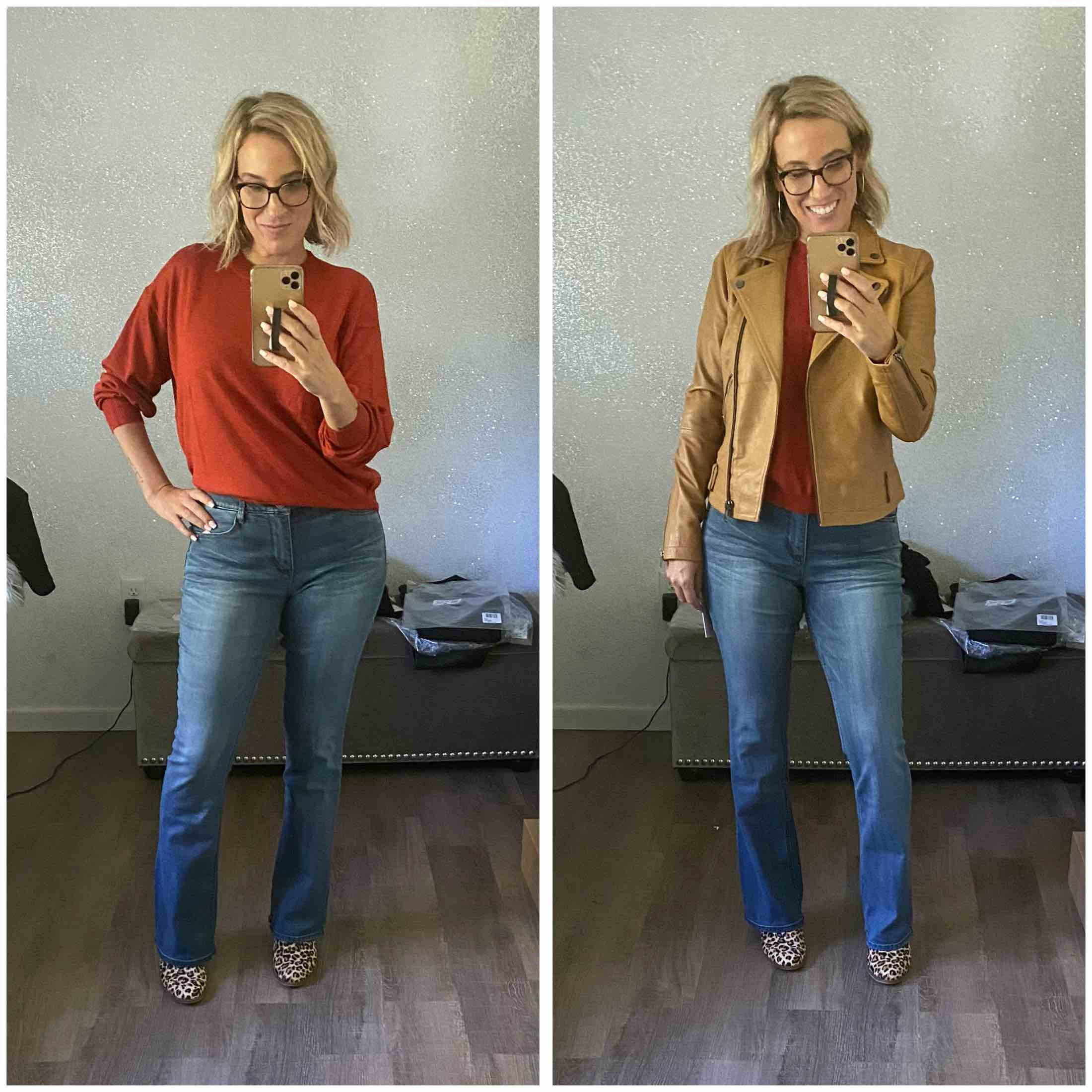Vince wool & cashmere cardigan, Good American jeans, Spanx leggings...the Nordstrom Anniversary Sale has comfy, chic goodness still in stock.