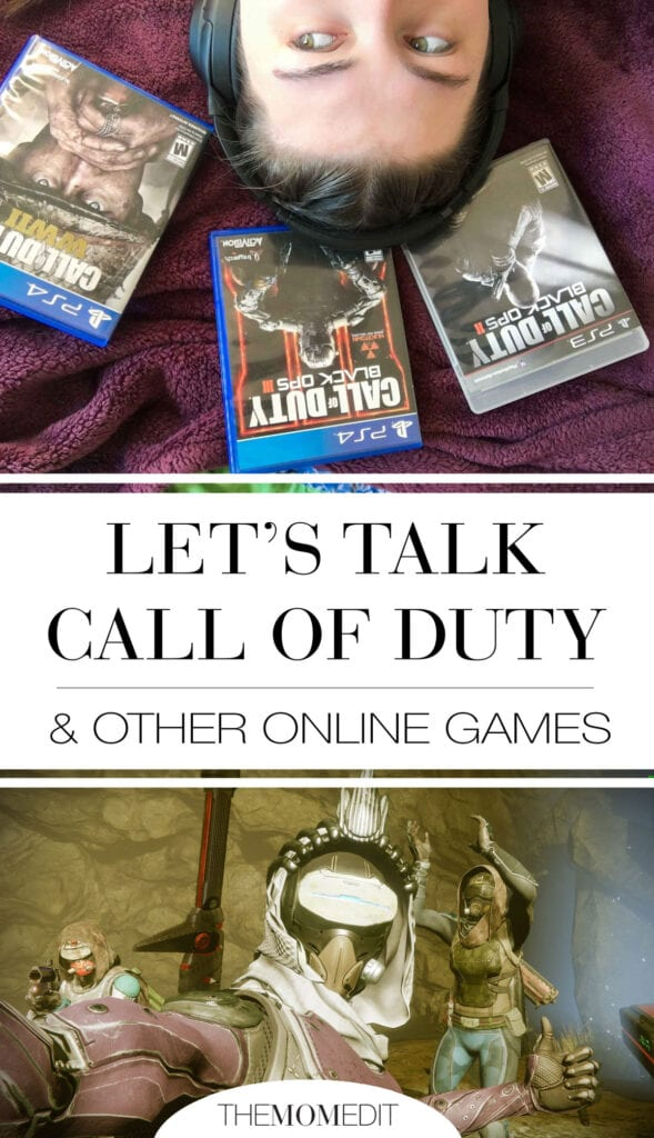 Should your kids play Call Of Duty (or other online video games w/ violence or mature ratings)? We have the long (& short) answers from a pro.