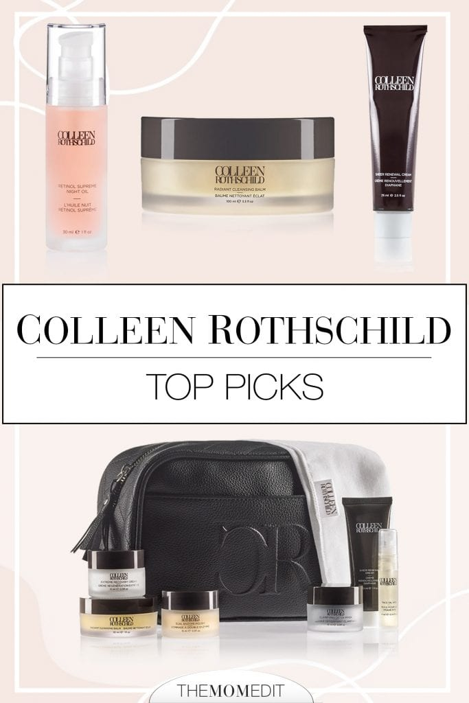 Cleansing balm, eye cream, face oil...Colleen Rothschild anti-aging beauty products are tops -- (that hair mask, tho). The skincare we love...