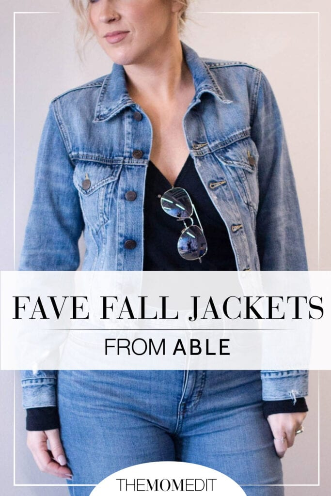 TME is obsessed with ethical fashion brand ABLE. Their stylish denim & leather jackets are part of why. See how we're wearing 'em this season.