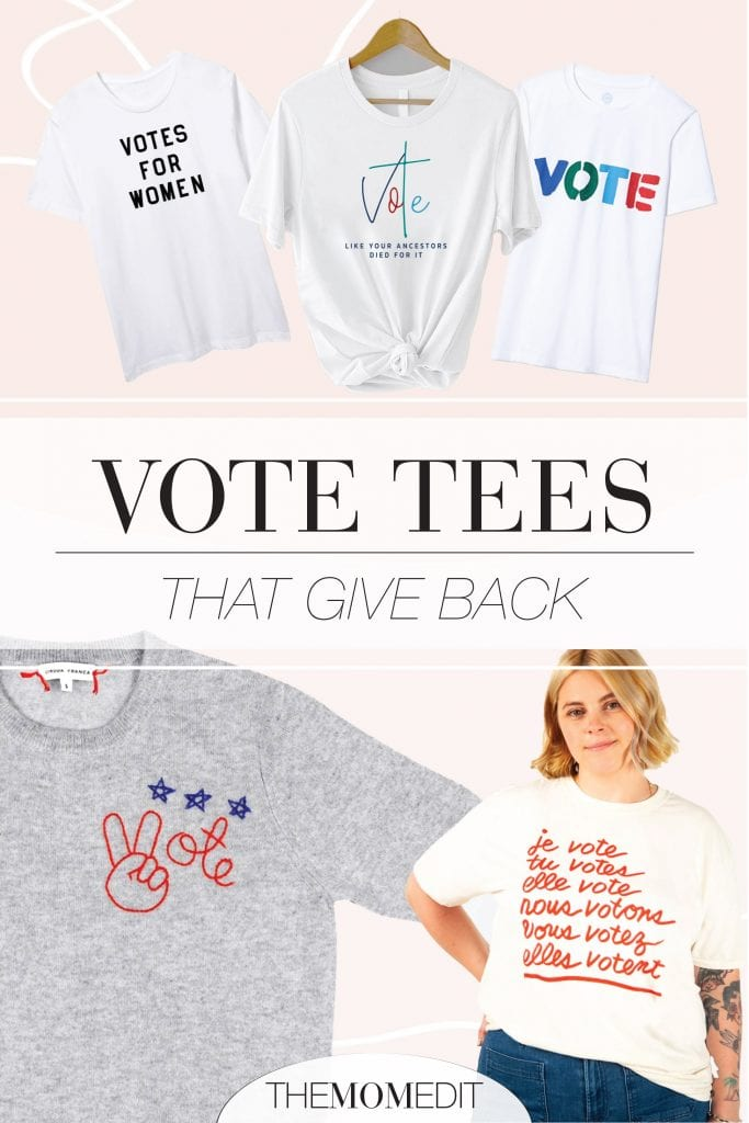 Got 'em! From Etsy to Clare V & Madewell, our top 10 vote graphic tees that help make a difference in voter turnout, engagement & education.