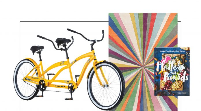 We have a li'l WFH org, a fun rug & a tandem bike, plus the coolest hoodie to support Black Lives Matter. Oh -- & home decor on sale, too.