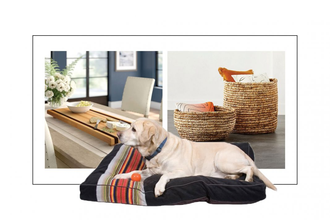 Bagel slicers & charcuterie boards, puppy beds & photographers, + sheets with A-mazing reviews -- our weekly fav finds in home decor.