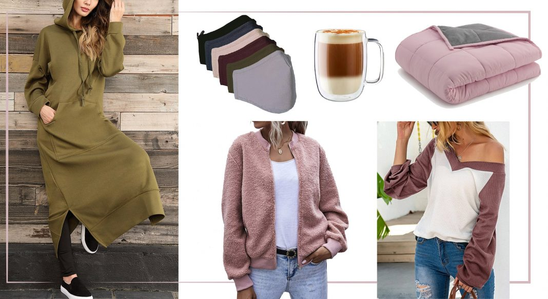 Bring on the chill. We're getting cozy w/ cute joggers, sexy-but-Zoom-worthy sweaters, face masks (obvi) & Cuisinart for home. Zulily faves, inside.