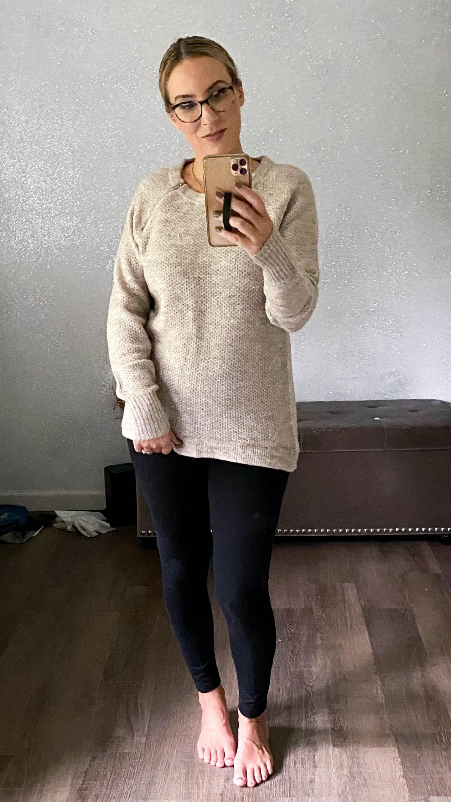 Bodysuits, jumpsuits, dresses...sweaters perfect to wear w/ leggings.... Abercrombie is rockin' stay-at-home style. Our comfy, cute picks inside.