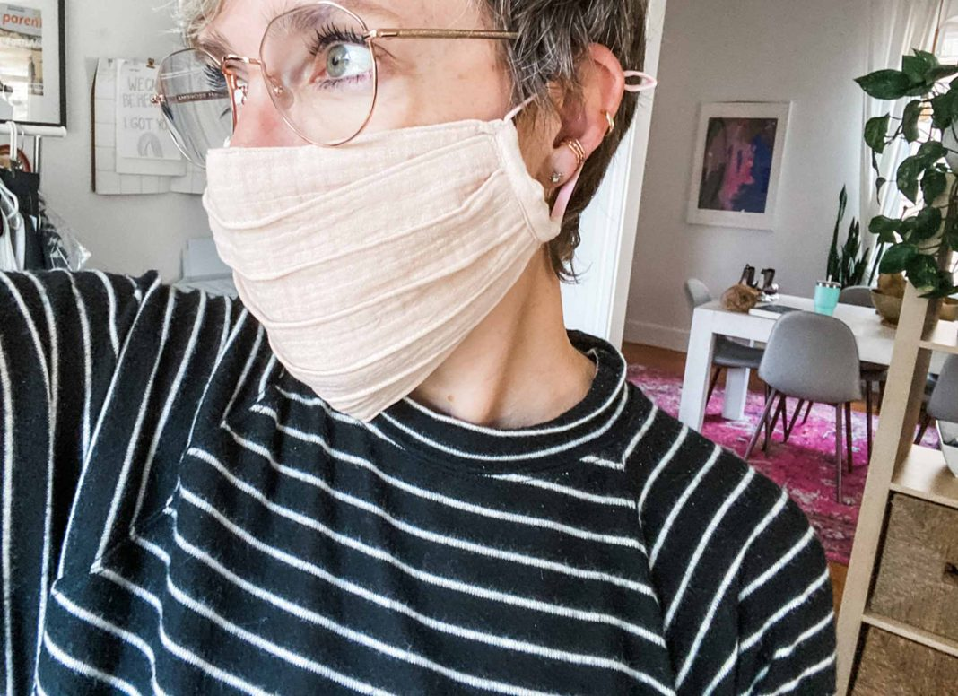 Cute face masks in a variety of skintone shades, easy colors & neutral patterns to mix in w/ your outfits. Best part? Comfy, breathable fabrics.