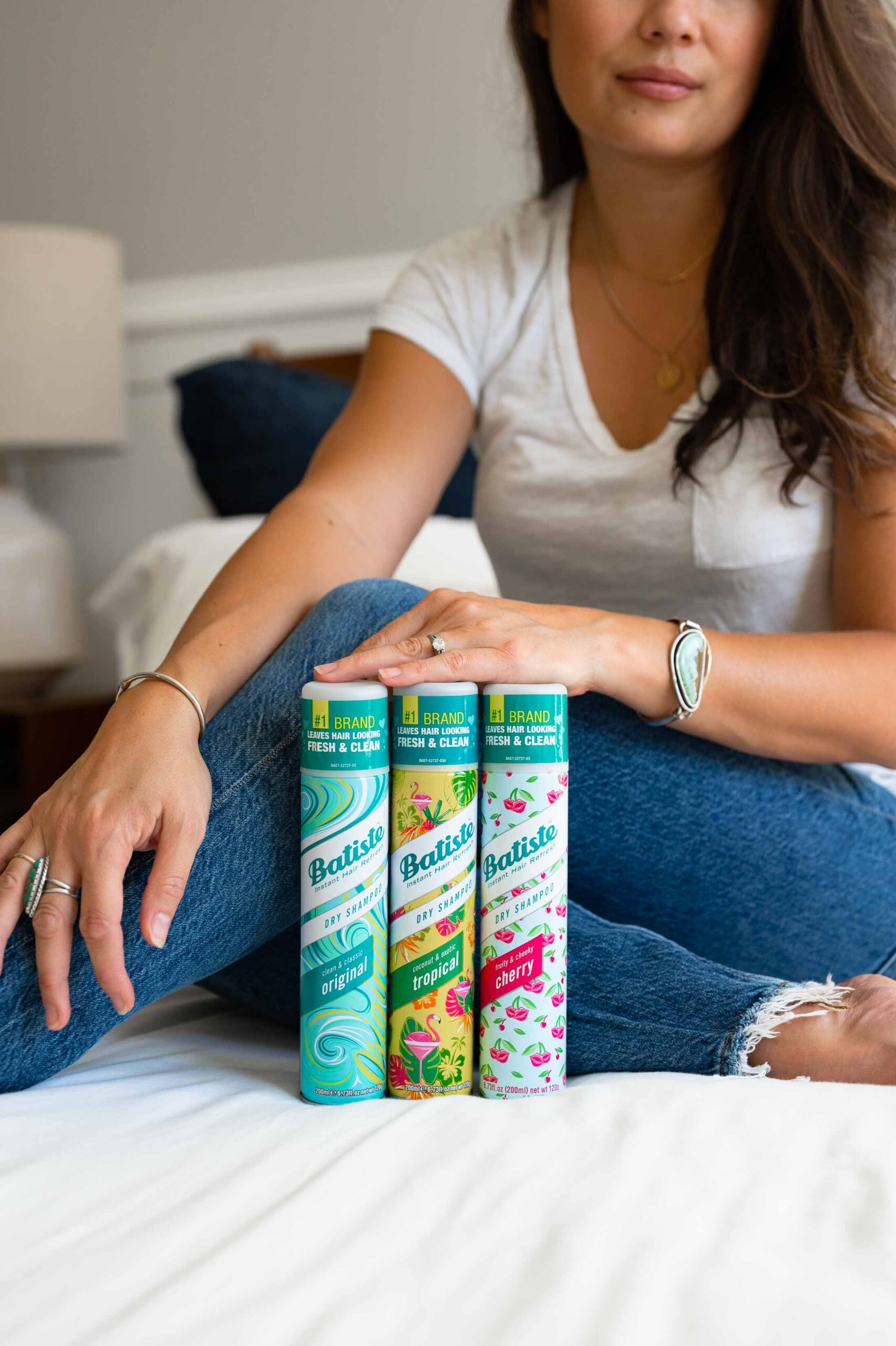 We're reviewing Batiste Dry Shampoo & Waterless Foam...With my weekly hair-washing routine, my locks are fuller, shinier & easy-to-care for.