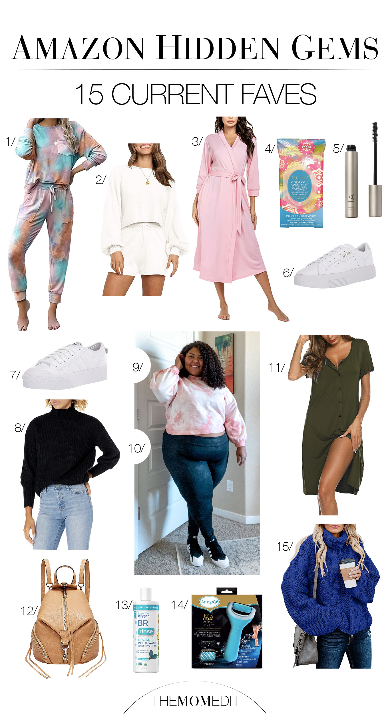 In addition to Amazon fashion finds, our Prime membership has us trying The Drop. We love tie-dye loungewear, adidas sneaks & Ilia beauty, too.