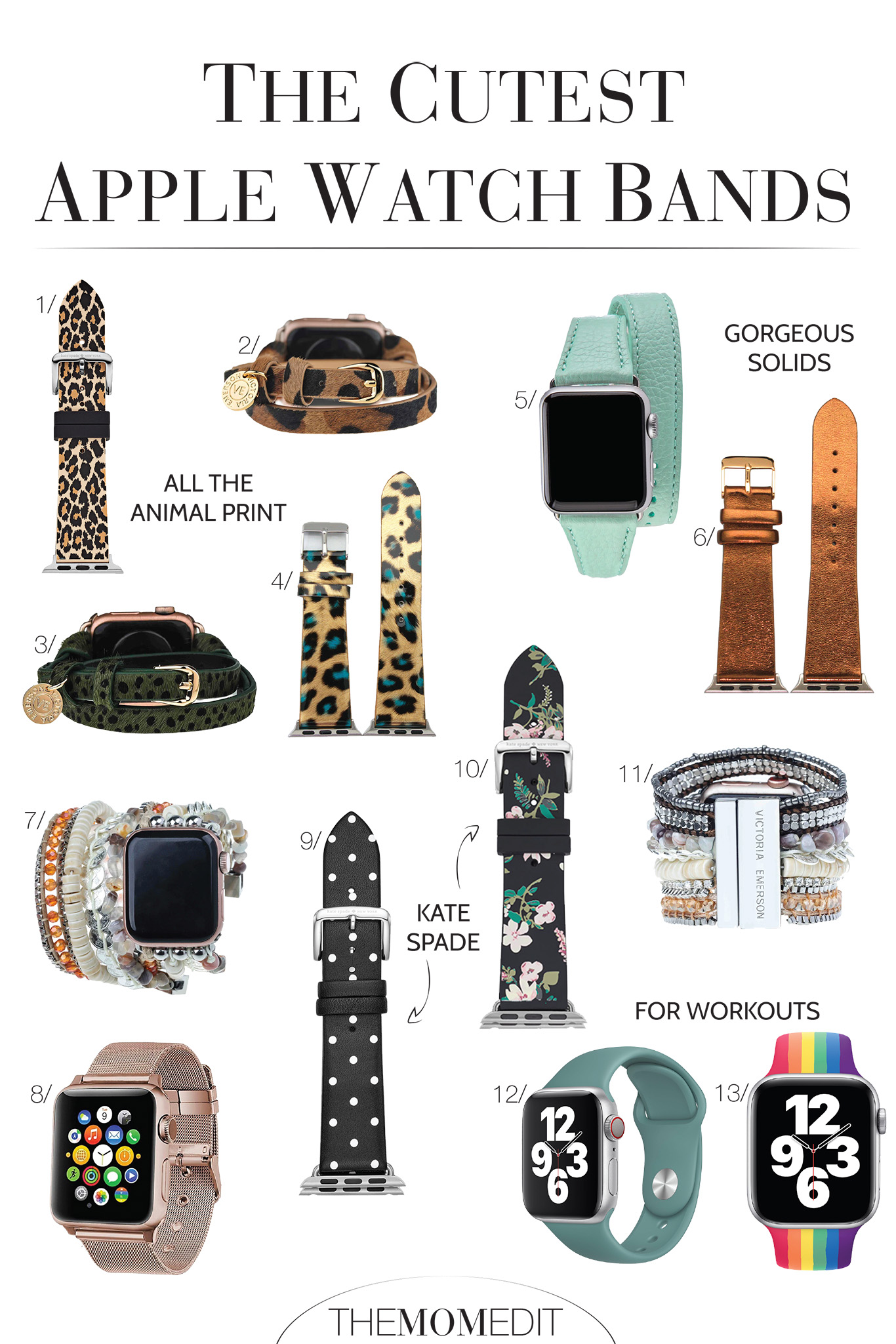 The Apple Watch Pride band 2020 in rainbow? Kate Spade & Victoria Emerson fashion straps that are more like jewelry? We have a roundup you'll love.