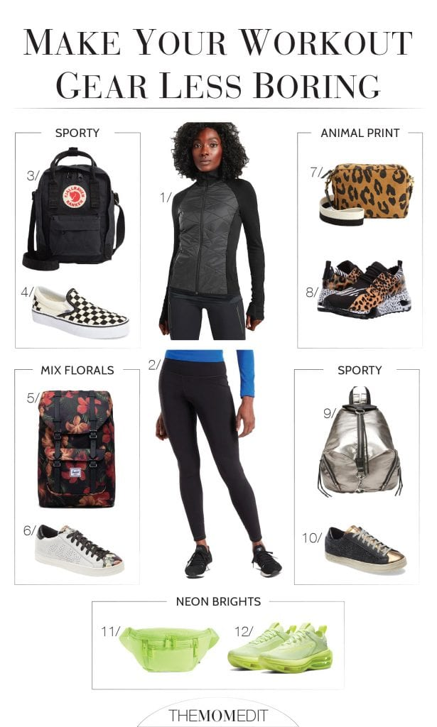How to wear activewear for everyday? It's all about the shoes & bags, baby. Add cute sneaks & a bag for li'l more streetstyle, a li'l less workout.