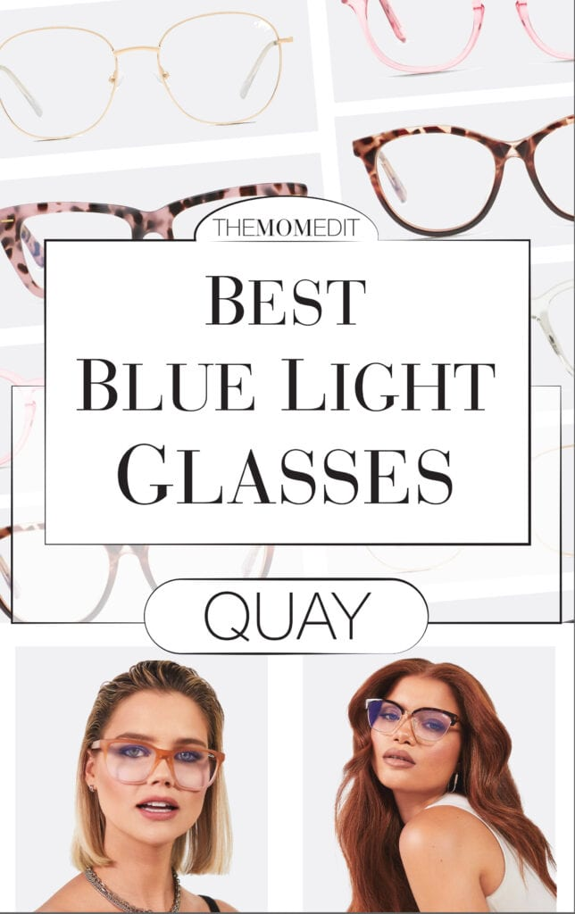 We searched for the best blue-light blocking glasses on the webs & landed on Quay glasses. The frames are cute & high-quality + they actually work!