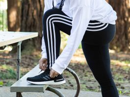 Those 3 stripes...we crush on adidas athleisure for classy sporty style (track jacket, leggings, sweatshirts) & now the women's ultraBOOST 20.