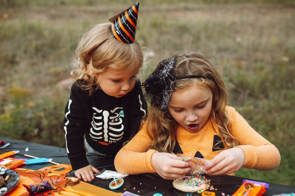 It's At-Home Halloween 2020 for these kids & toddlers. We found these fun Halloween crafts & decorations at Target — check out the pumpkins!
