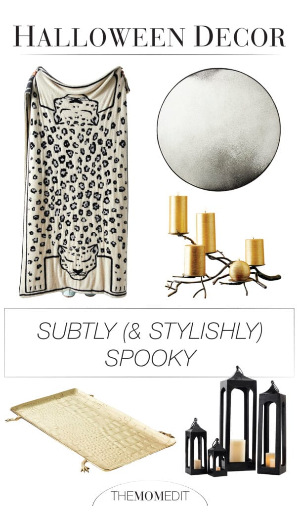 We've found Halloween ornamentation that gives a chic, elegant nod to the dark & spooky -- think of it as the Black Swan of Fall decorations.