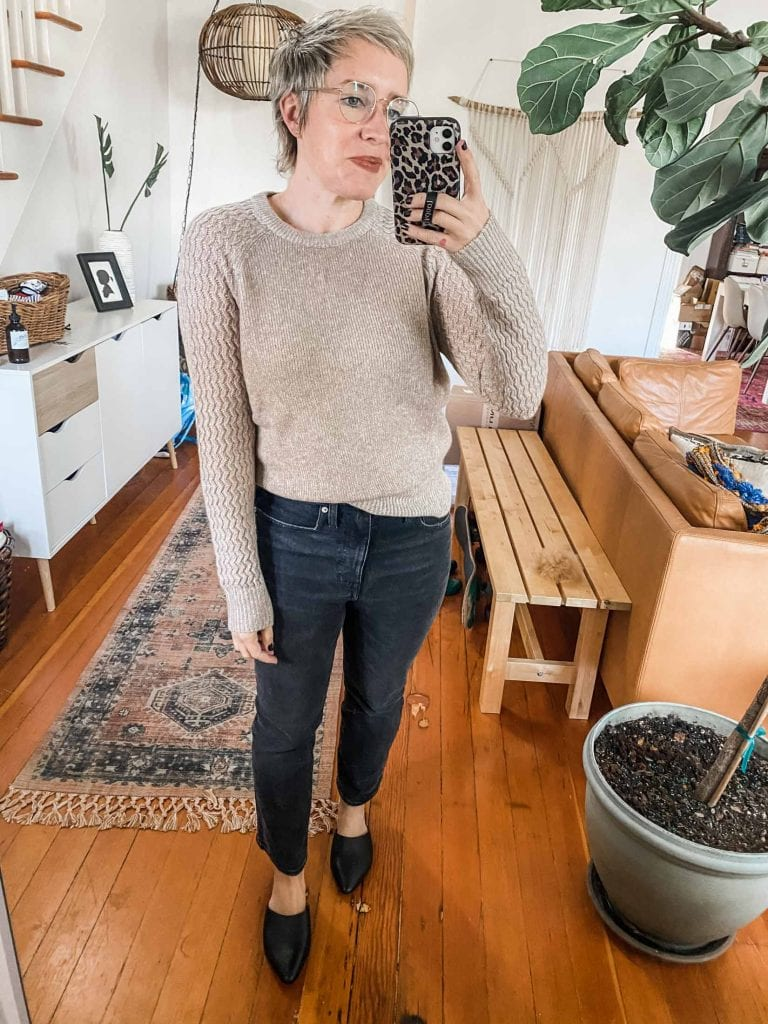 Our search for cashmere sweaters led us to Bloomingdale's Aqua line. They're cute, soft & well-priced (under $200). Check out our review.