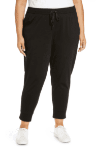 From Nike, Athleta, EILEEN FISHER & Anthro, we found cute plus-size joggers for lounge & also chic joggers for an elevated look (wear to work, maybe?)