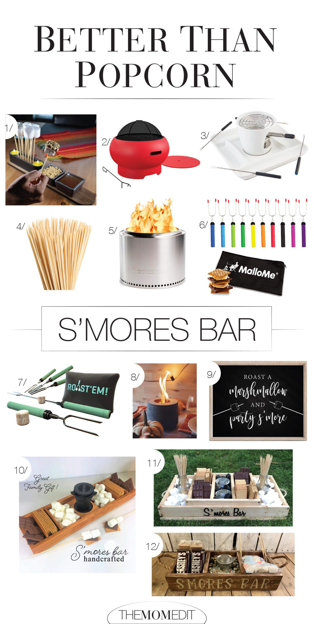 There's something magical about making S'mores. We can do it anywhere: outdoor fire pit to fancy tea light, with a sign or for a party. DIY fun, inside.