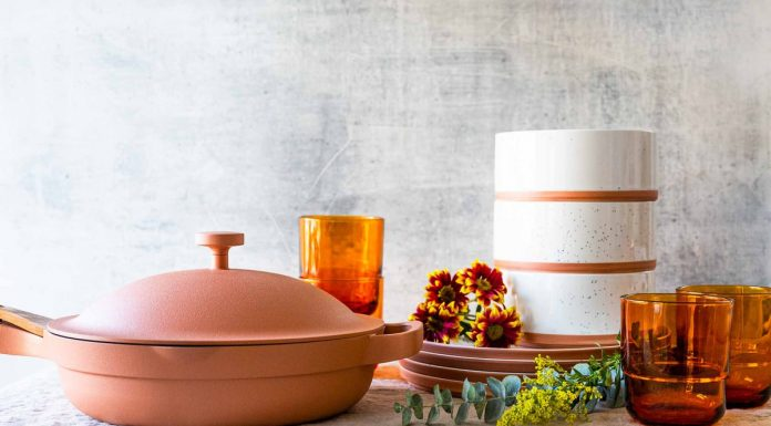 After tempting us w/ its handmade terracotta look, multi-function versatility & price tag, we're giving the Our Place Always Pan a review.