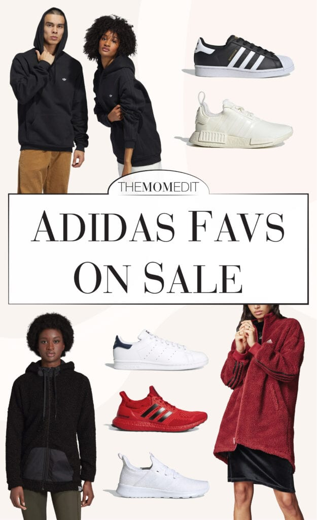 Superstars & Stan Smiths are our fave women's sneaks. The ULTRABOOSTs are cool, also. Our Adidas shoe shopping list (& a few jackets, too.)