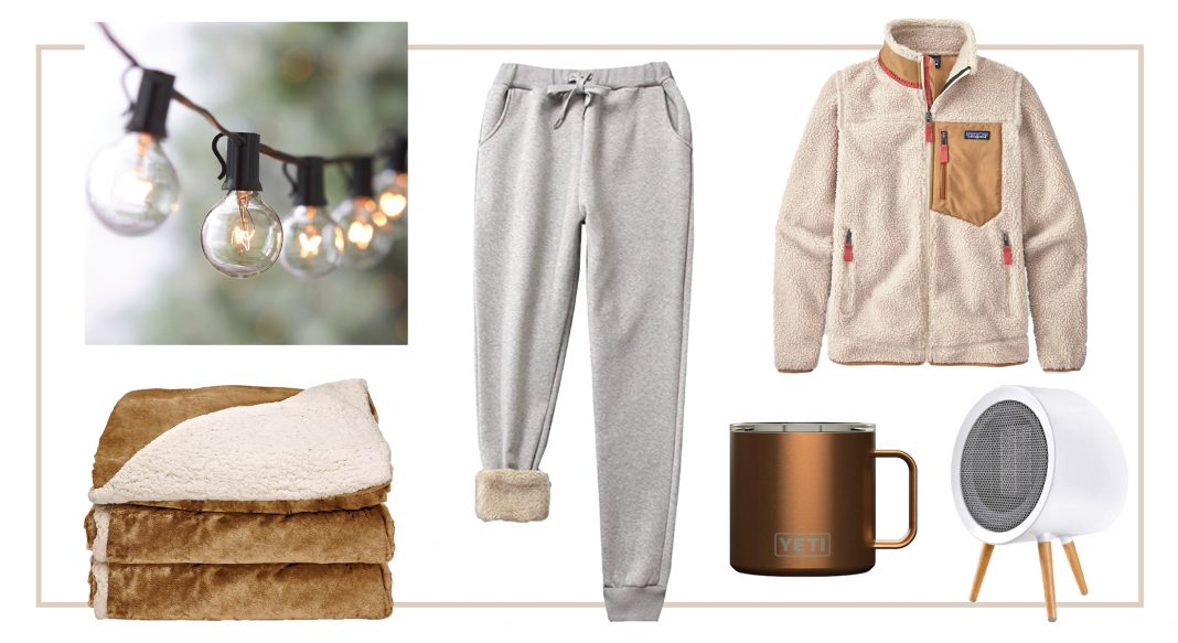 Patagonia fleece, UGG slippers, YETI mugs, electric blankets —the gifts of warmth & social distance are just right. The coziest presents for outdoor hangouts, right here.