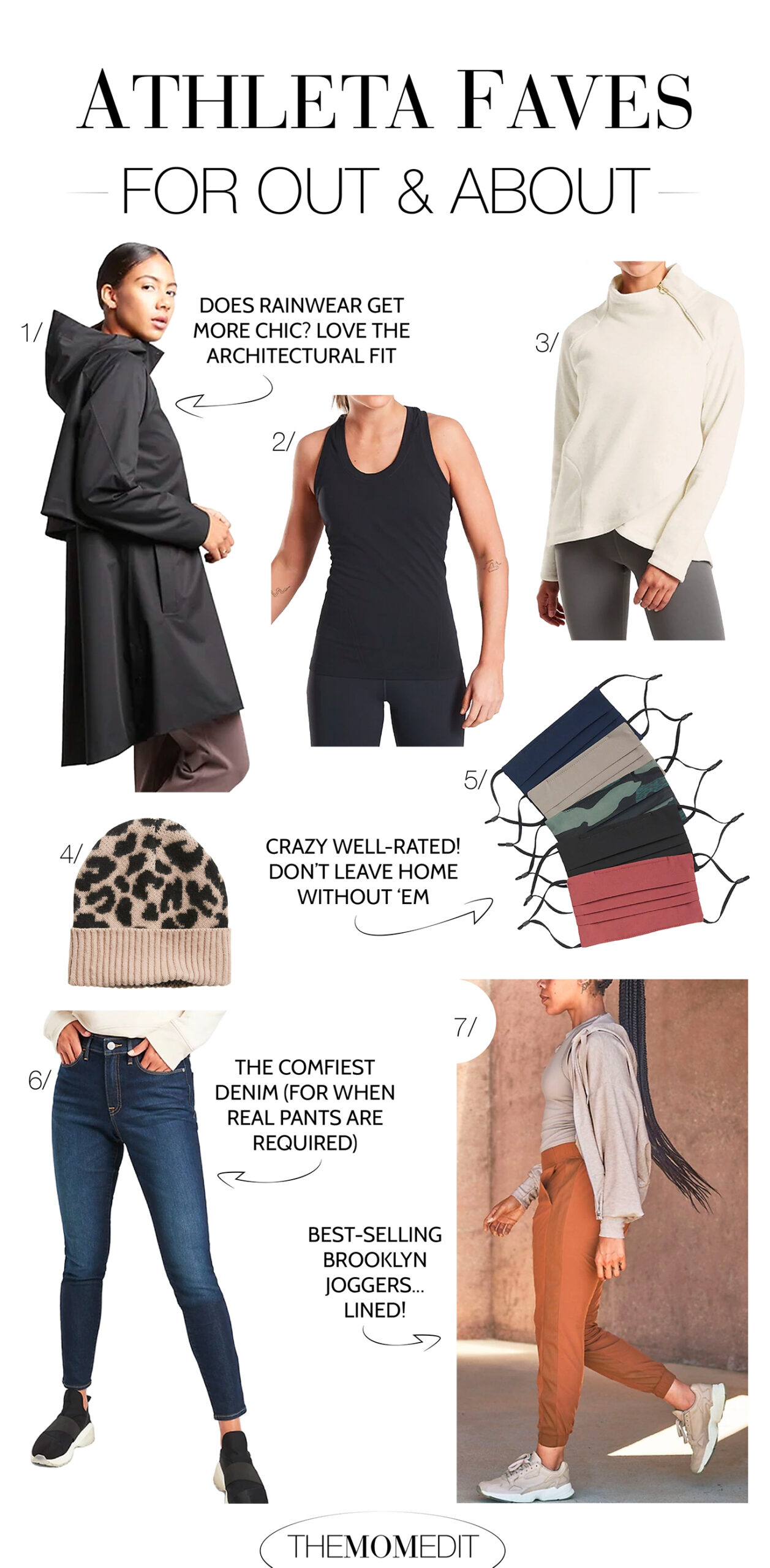 It's Athleta capsule wardrobe refresh time. We're shopping comfy, high-performing activewear & loungewear that takes us from Zoom to yoga to errands to the couch -- & back -- all w/ a nod to sustainability.