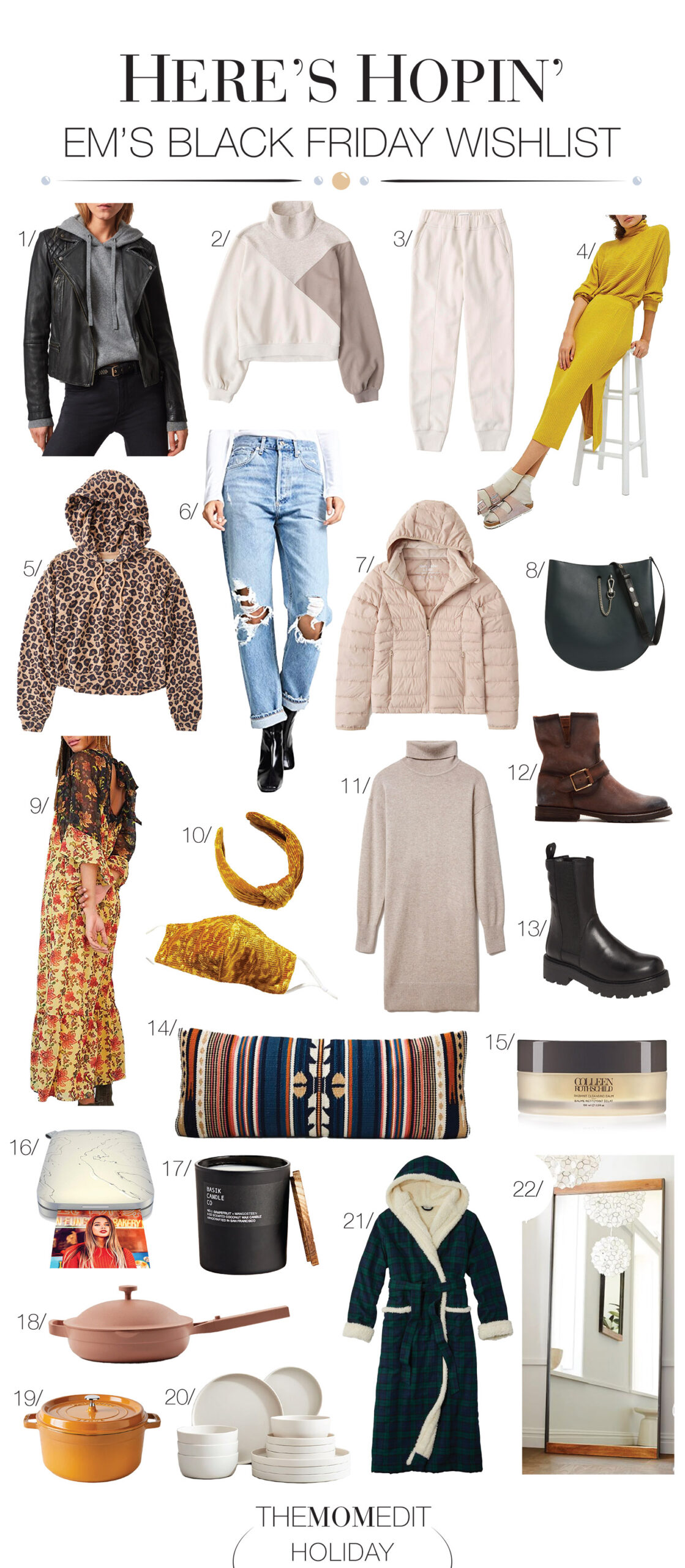 A Black Friday wishlist full of high-end fashion & home fun that's already on sale. Think AllSaints, Anthro, Abercrombie, Colleen Rothschild & Pottery Barn. YASSS.