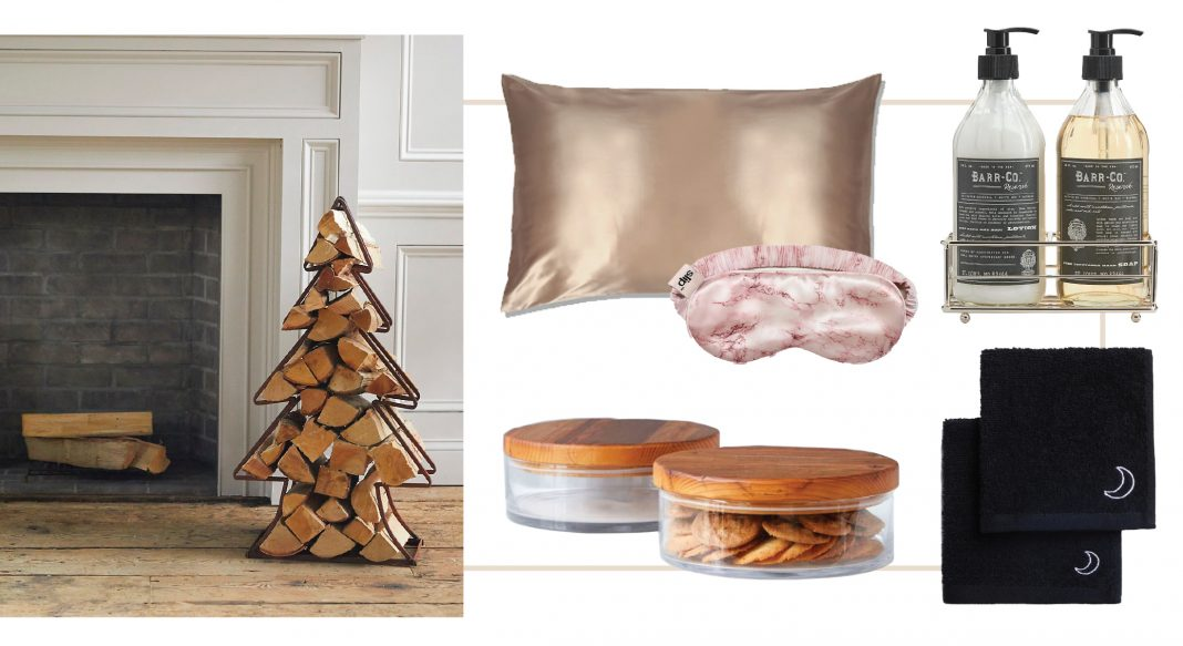 More time indoors this winter justifies a few home upgrades, especially decor to cozy-up our space. Think textures, lighting & scents for living, bed & bath.