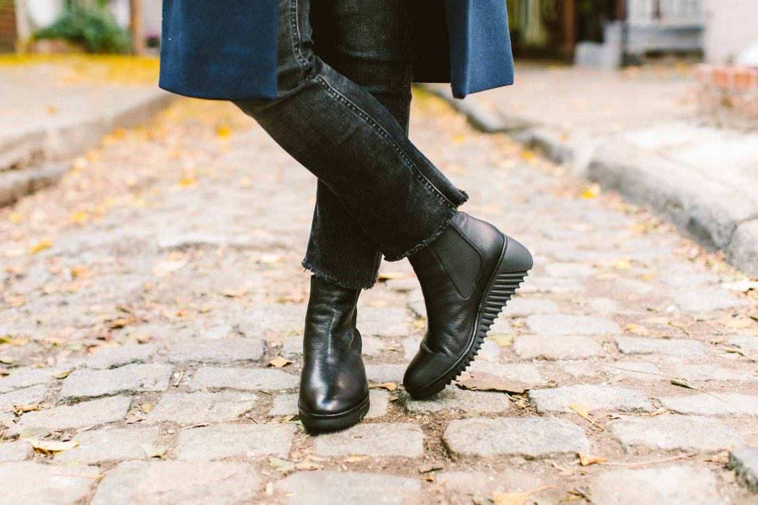 We're gushing over Fly London, a favorite for stylish, comfortable shoes. Our go-to booties for winter & how to style 'em w/ jeans, curated by Linzi.
