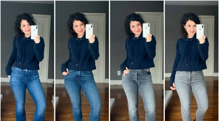 The best denim? MOTHER & Madewell jeans go head-to-head in a face-off of jeans that aren't skinny. Think straight-leg, cropped, flare & mom jeans.