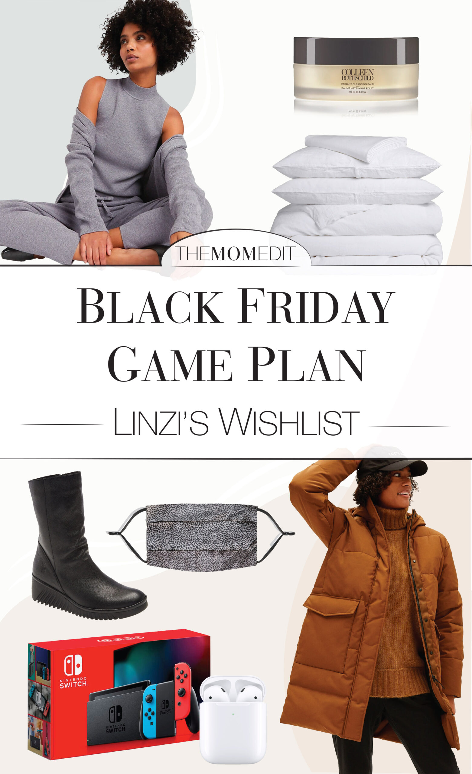 We're eyeing high-quality & value in Black Friday shopping deals. Parachute Home, Dyson, Nintendo, Apple, Vince & MOTHER Denim. Game plan inside.