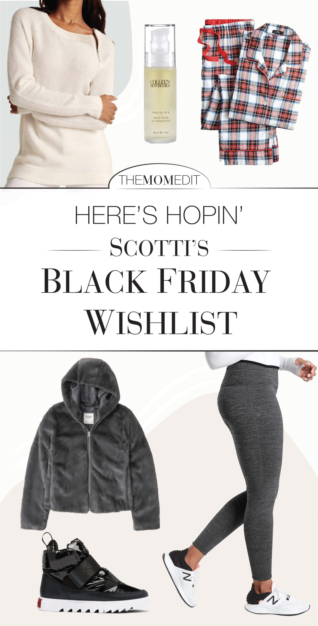 The best women's gifts? Will be on sale for Black Friday. We're hoping for sequins & luxe loungewear from Anthro, Abercrombie & J.Crew. #addtocart