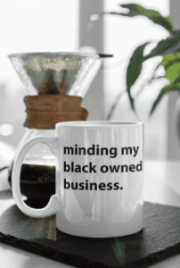 Cute mugs, travel carafes, candles, throws & accessories...we're finding our fave meaningful gifts & home decor from Black-owned businesses