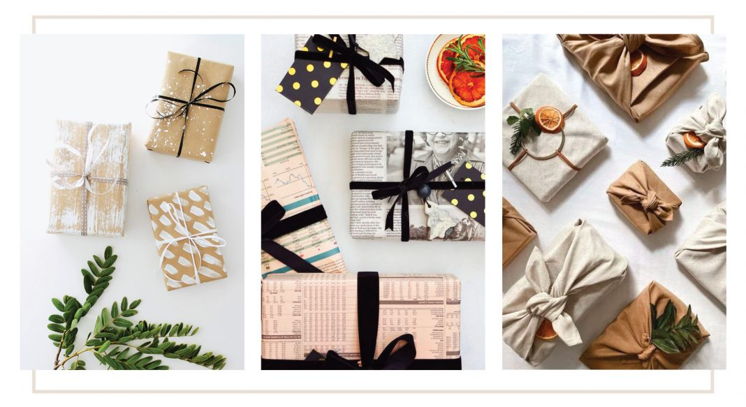 The best gift wrapping ideas this year? Eco-friendly & at home. We've got 6 fun, beautiful sustainable gift wrap ideas. Reuse. Recycle. Top it off. Happy hols!
