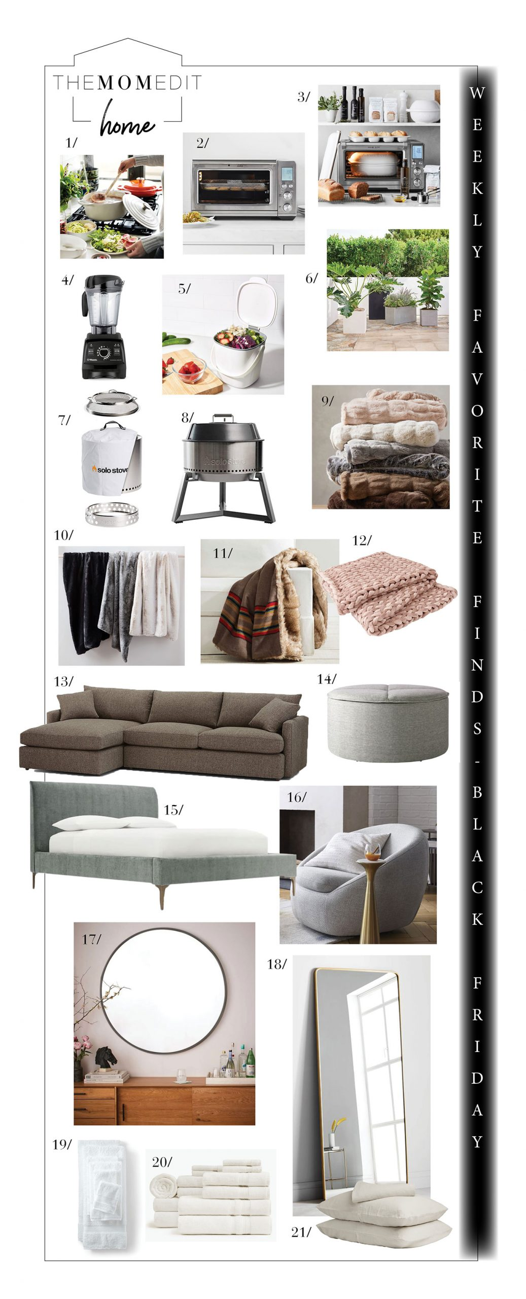 Parachute linens, faux fur throw blankets, Solo Stoves & Smart Toasters....Black Friday Sales for home are smokin'. Shop 'em (+ small biz) here.