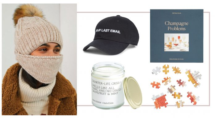 2020 & white elephant gifts pair well, right? We found fun, unique presents for those gift exchanges — like memes wrapped in pretty packaging. Enjoy!