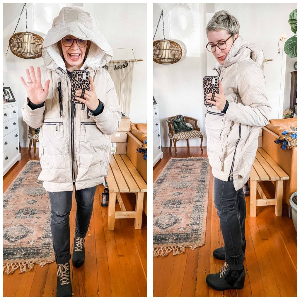 After a year w/ the Amazon Orolay down coat, we've got a review, plus a try-on sesh in the new colors —red, beige, metallic, navy & the original green.