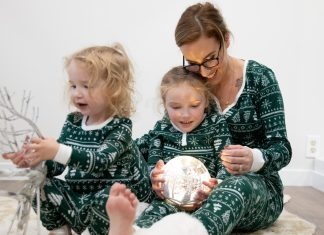 The cutest matching family pajamas, curbside pickup & christmas decorations we can mix & match...Kohl's has we need for holidays at home.