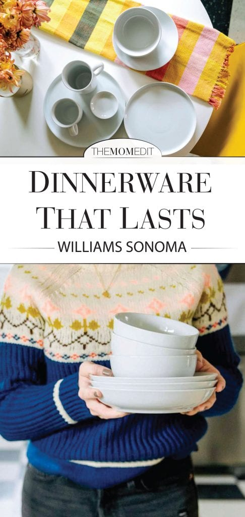 Time for an overhaul, so the search for a forever set of dishes is on. We're going porcelain, Williams Sonoma & white for our next dinnerware set. Here's why.