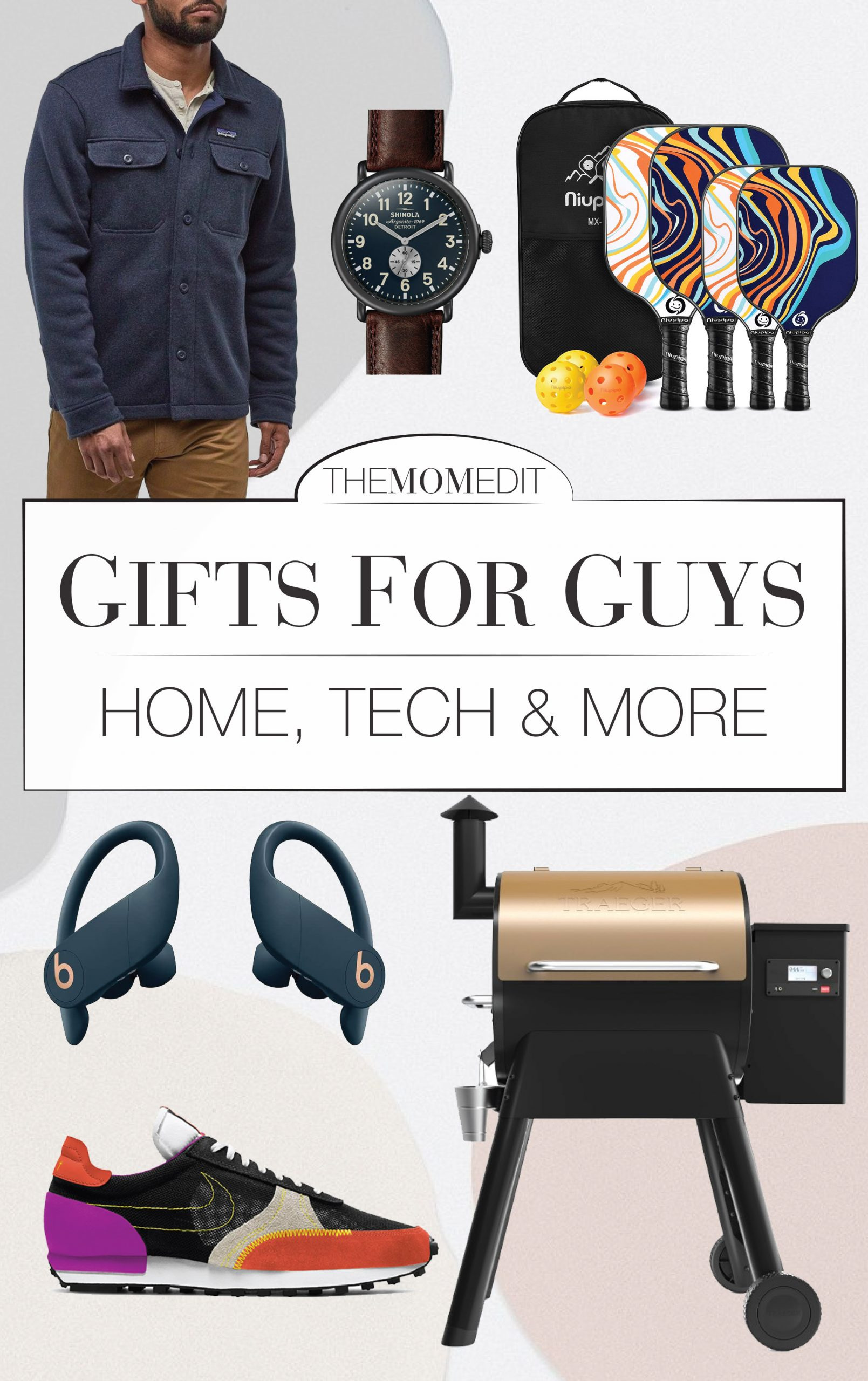 A KISS for the men in our lives (Keep It Simple....). Sometimes the most practical gifts are the best — from the bedroom to the backyard — 25 gifts for him.